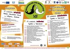 XIII Regionalne Dni Rybactwa - program