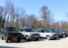 Range Rover Lazy Ride w Koszęcinie