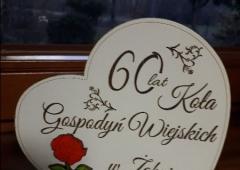 """60 - lecie KGW w Żabnicy czyli """"Diamentowe Gody""""członkiń"""