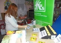 Wystawa akcesoriów zwiększających bezpieczeństwo pracy w gospodarstwie rolnym