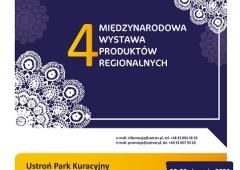 4 Międzynarodowa Wystawa Produktów Regionalnych w Ustroniu