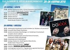 Zaproszenie na Dożynki Powiatowo-Gminne do Krzanowic.
