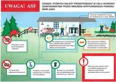 ASF - informacje dla hodowców trzody chlewnej