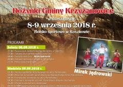 Zapraszamy na dożynki gminy Krzyżanowice