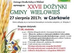 XXVII Dożynki gminy Wielowieś