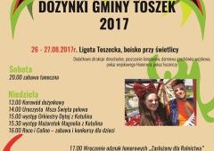 Dożynki gminy Toszek 2017
