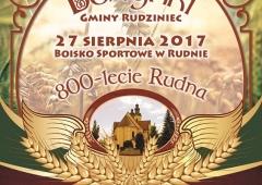 Dożynki gminy Rudziniec 2017