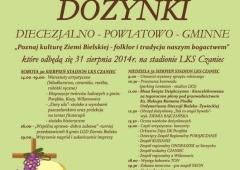 Dożynki Diecezjalno-Powiatowo -Gminne w Czańcu